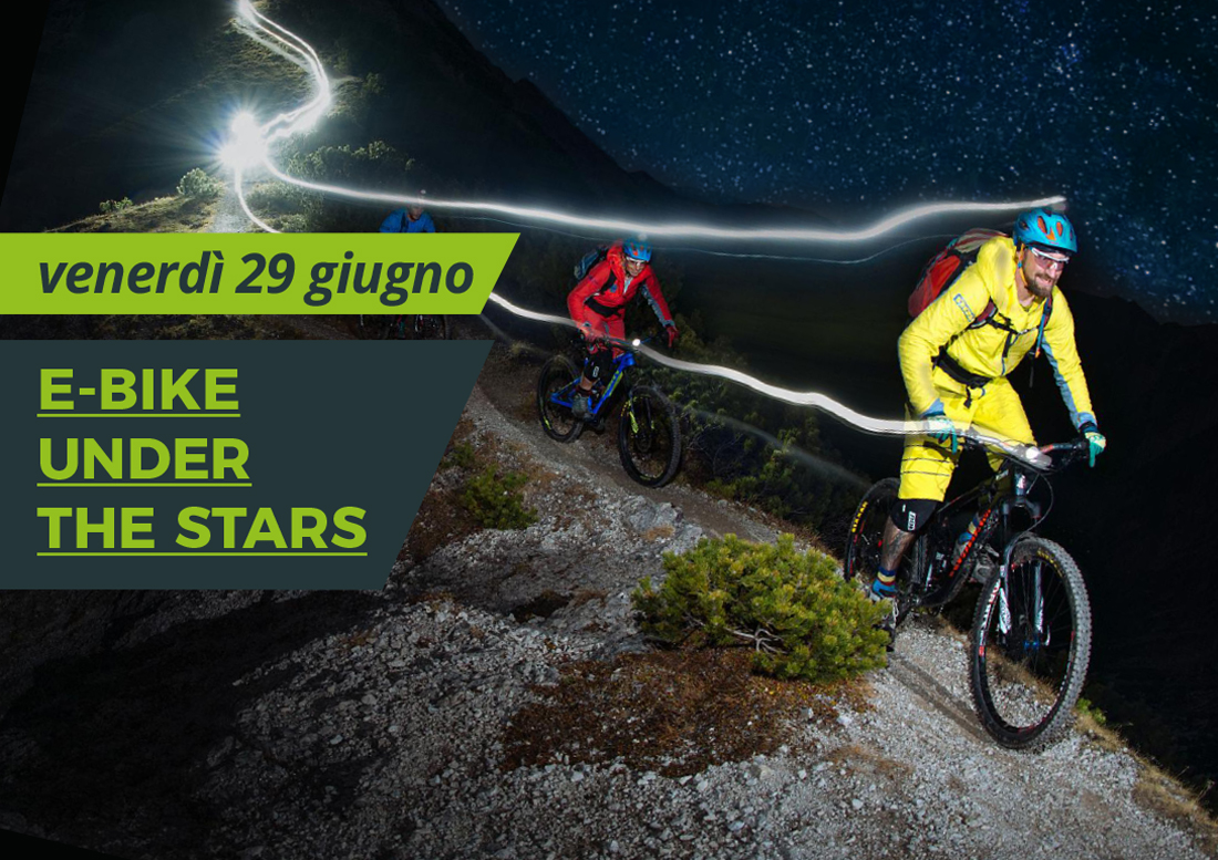 E-bikes Under the stars raduno e-mtb non competitivo